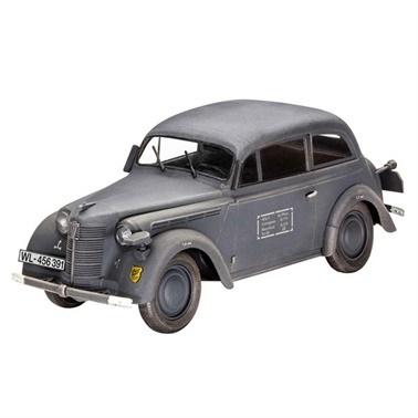 Revell Revell Model Kit 1:35 German Staff Car Kadett  Saloon Renkli